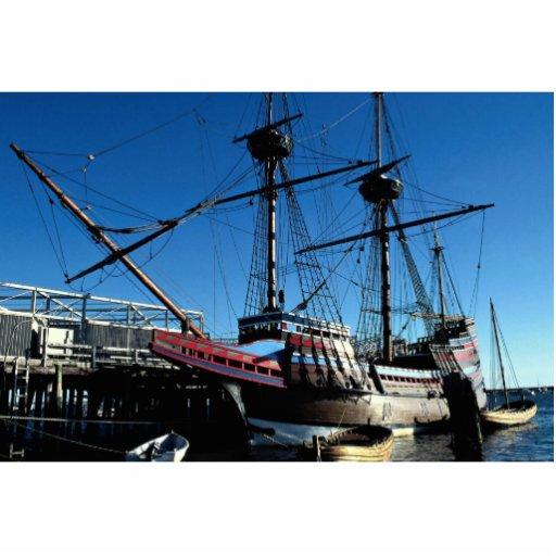 Mayflower II, hito histórico nacional, Plymouth Escultura Fotografica