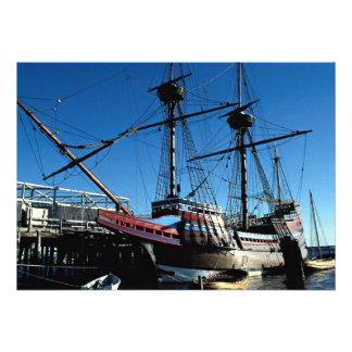 Mayflower II hito histórico nacional Plymouth Anuncio