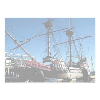 Mayflower II hito histórico nacional Plymouth Invitación Personalizada