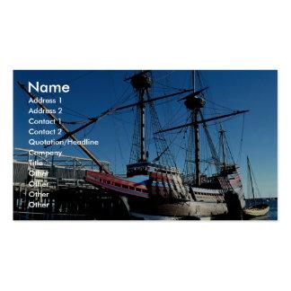 Mayflower II, National Historic Landmark, Plymouth Business Card