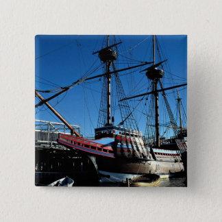 Mayflower II, National Historic Landmark, Plymouth Button