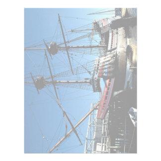 Mayflower II, National Historic Landmark, Plymouth Letterhead