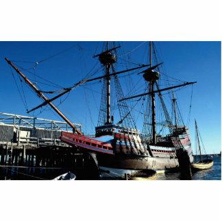 Mayflower II National Historic Landmark Plymouth Photo Cut Out