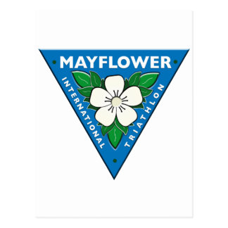 Mayflower International Triathlon Postcard