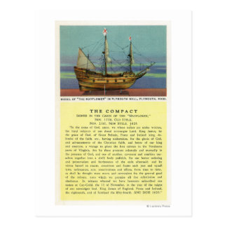Mayflower Model Postcard
