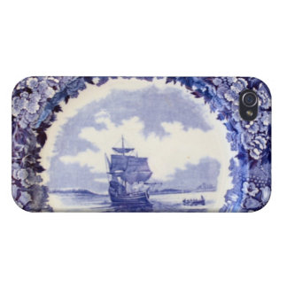 Mayflower Pattern for iPhone4 Covers For iPhone 4