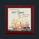 """Mayflower Ship American Ancestors Keepsake Box<br><div class=""""desc"""">Commemorate the upcoming 2020 anniversary of the Mayflower voyage with this collectible keepsake box. We're partnering with organizations from the US to the UK and the Netherlands to explore the enduring legacy of a remarkable journey. Join us!</div>"""