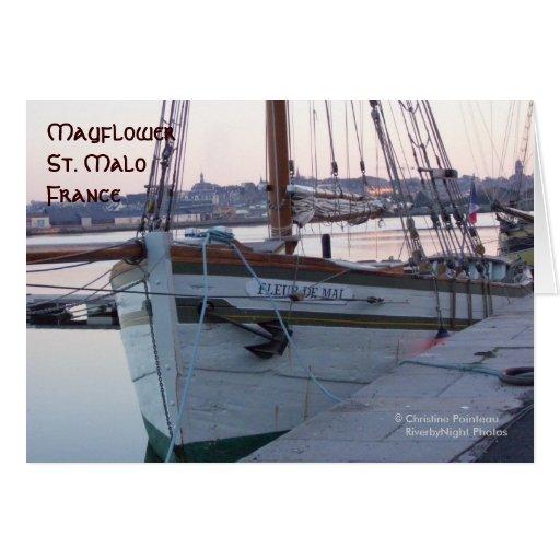 Mayflower Tarjeta De Felicitación