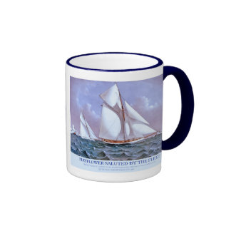 Mayflower y Galatea Taza De Café