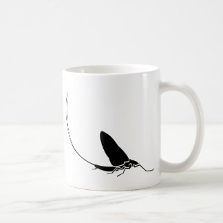 Mayfly Classic White Coffee Mug