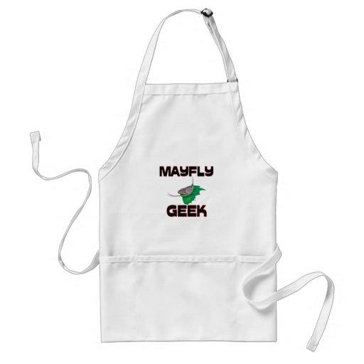Mayfly Geek Adult Apron