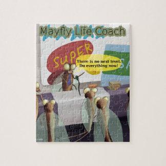 Mayfly Life Coach Funny Jigsaw Puzzle