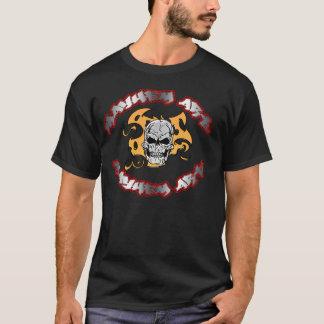 mayhem art skull 5 T-Shirt