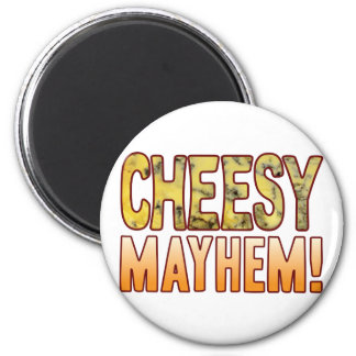 Mayhem Blue Cheesy Magnet