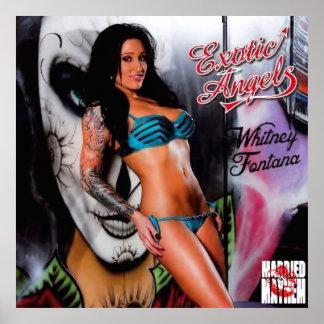 Mayhem Maiden: Whitney Exotic Angels Poster