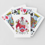 Mayhew Family Crest Deck Of Cards