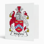 Mayhew Family Crest Vinyl Binder