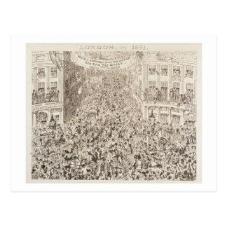 Mayhew's Great Exhibition of 1851: London in 1851, Postcard