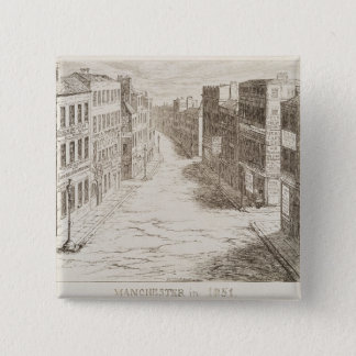 Mayhew's Great Exhibition of 1851: Manchester in 1 Pinback Button