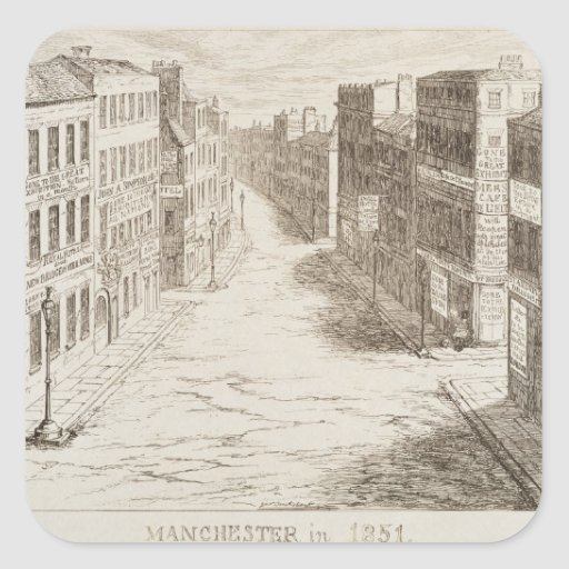 Mayhew's Great Exhibition of 1851: Manchester in 1 Sticker