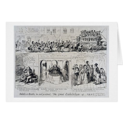 Mayhew's Great Exhibition of 1851: Odds and Ends, Card