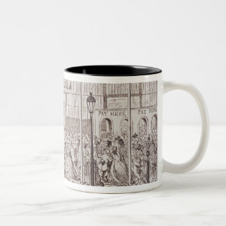 Mayhew's Great Exhibition of 1851: The First Shill Two-Tone Coffee Mug