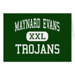 Maynard Evans - Trojan - alto - Orlando la Florida Tarjetas
