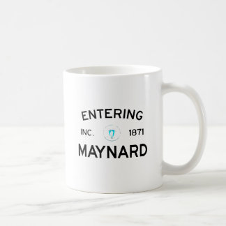 Maynard que entra taza