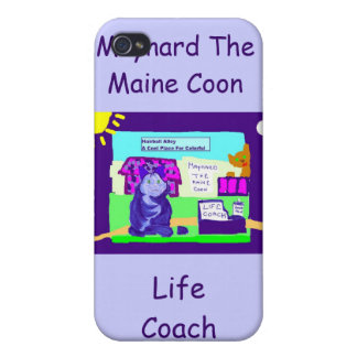 Maynard The Maine Coon Iphone Case