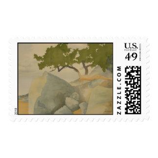 Mayne Island Arbutus Postage Stamp