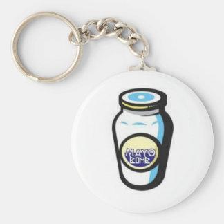 Mayo Bomb Jar Keychain