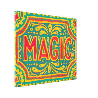Mayo De Magic Canvas Print