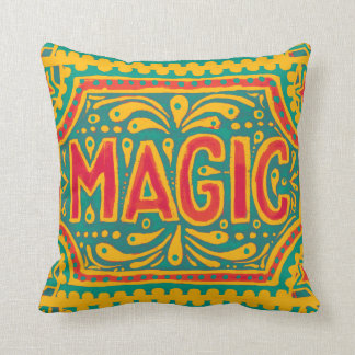 Mayo De Magic Throw Pillow