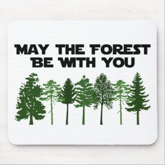 Mayo el bosque esté con usted alfombrilla de raton