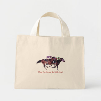 ¡Mayo el caballo esté con usted! Bolsa De Mano