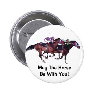 ¡Mayo el caballo esté con usted! Pin