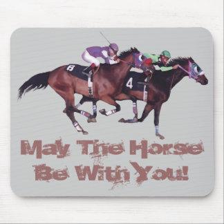 ¡Mayo el caballo esté con usted! Tapete De Raton