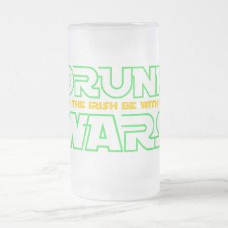 Mayo el irlandés esté con usted taza de cristal