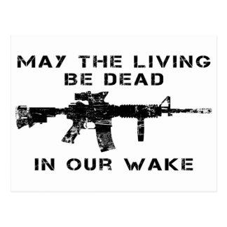 Mayo el vivo sea muerto en nuestra estela tarjetas postales