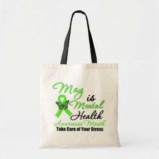 Mayo es mes de la conciencia de la salud mental bolsas