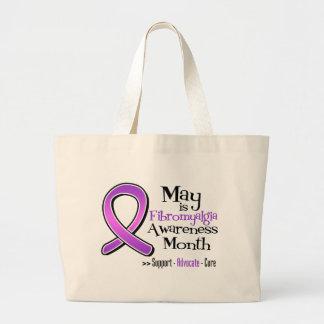 Mayo es mes de la conciencia del Fibromyalgia Bolsas