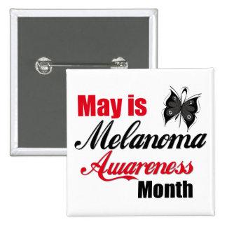 Mayo es mes de la conciencia del melanoma pin