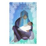 Mayo la paz del terraplén del niño de Cristo nuest Papeleria De Diseño
