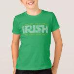 Mayo la suerte del irlandés esté allí con usted poleras