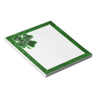 Mayo la suerte del irlandés ..... (inclinación) libretas para notas