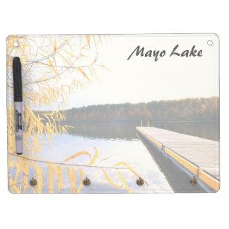 Mayo Lake Boat Dock Dry Erase Boards