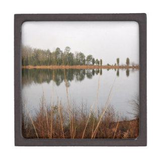 Mayo Lake Keepsake Box