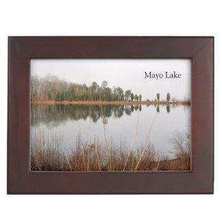 Mayo Lake Memory Box