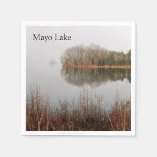 Mayo Lake Paper Napkins