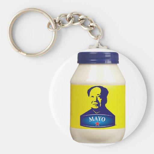 MAYO - New chinese mayonnaise Key Chains